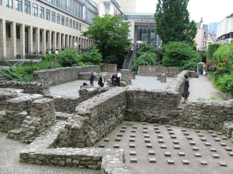 Archaeological Gardens in Frankfurt