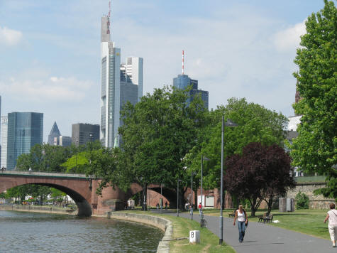 Commerzbank Tower in Frankfurt