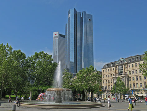 Landmarks in Frankfurt am Main