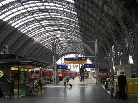 Frankfurt Central Train Station